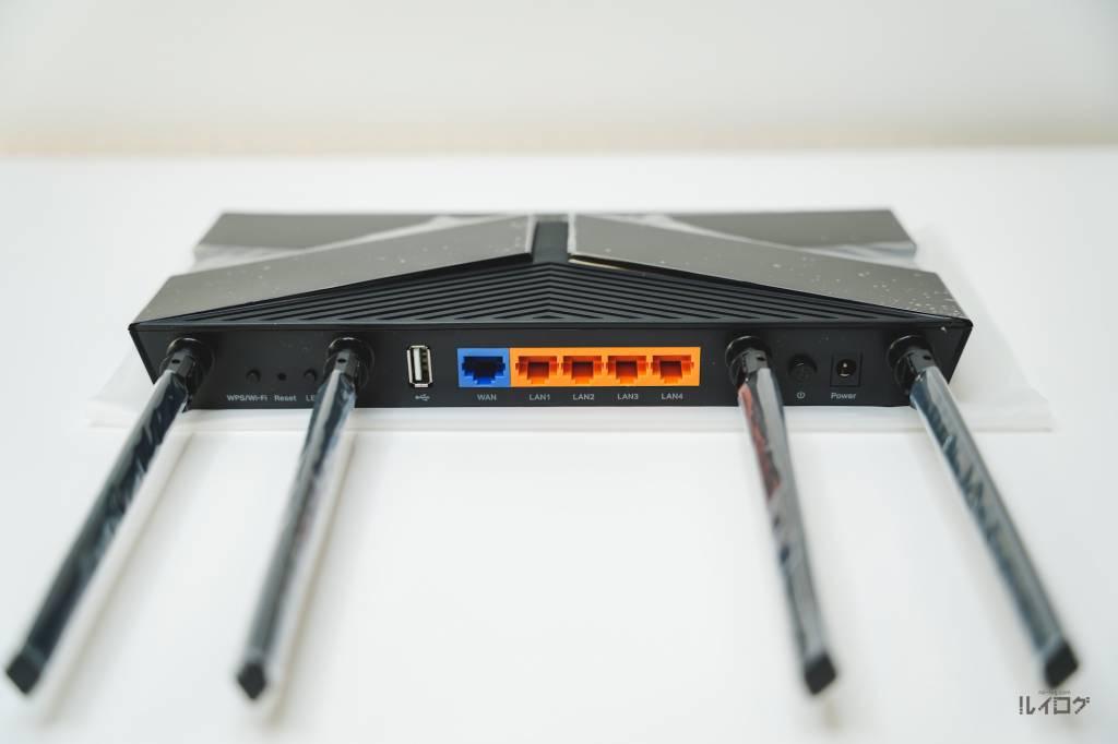 Wi-Fi6ルーターArcherAX20本体