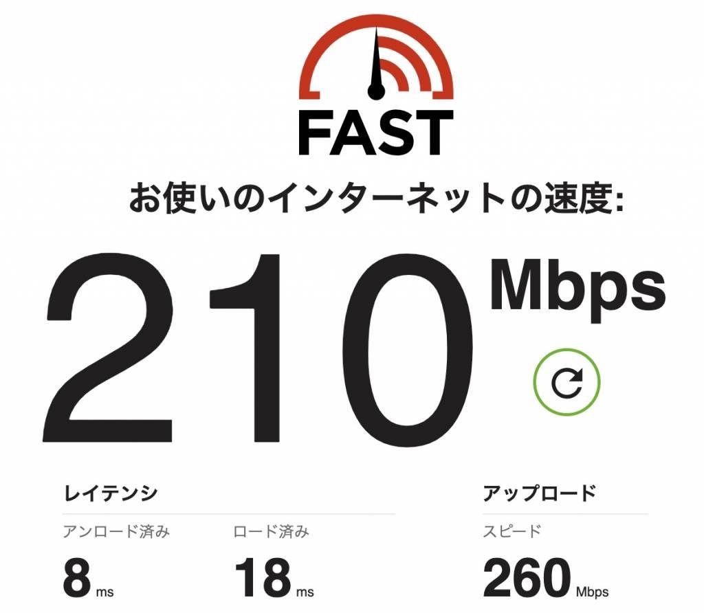MacBookAirのWi-Fi速度【Archer AX20】