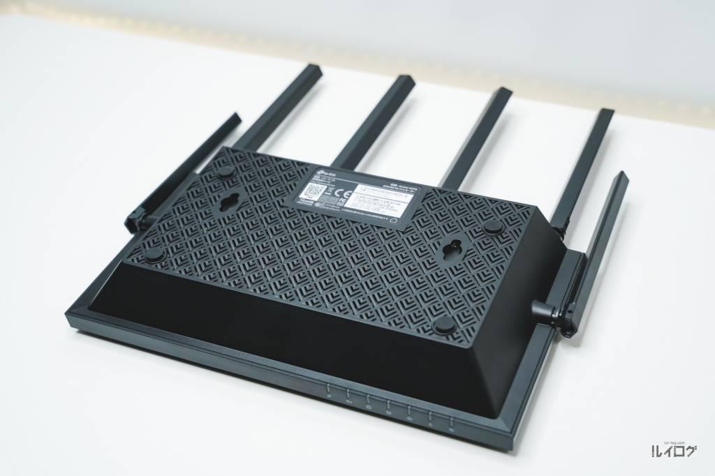 Wi-Fi6ルーターTP-Link Archer AX20本体裏面