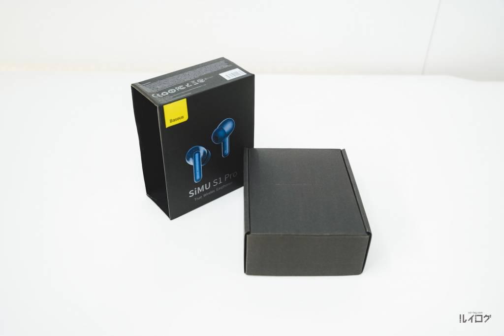 Baseus SiMU S1 Proのパッケージ