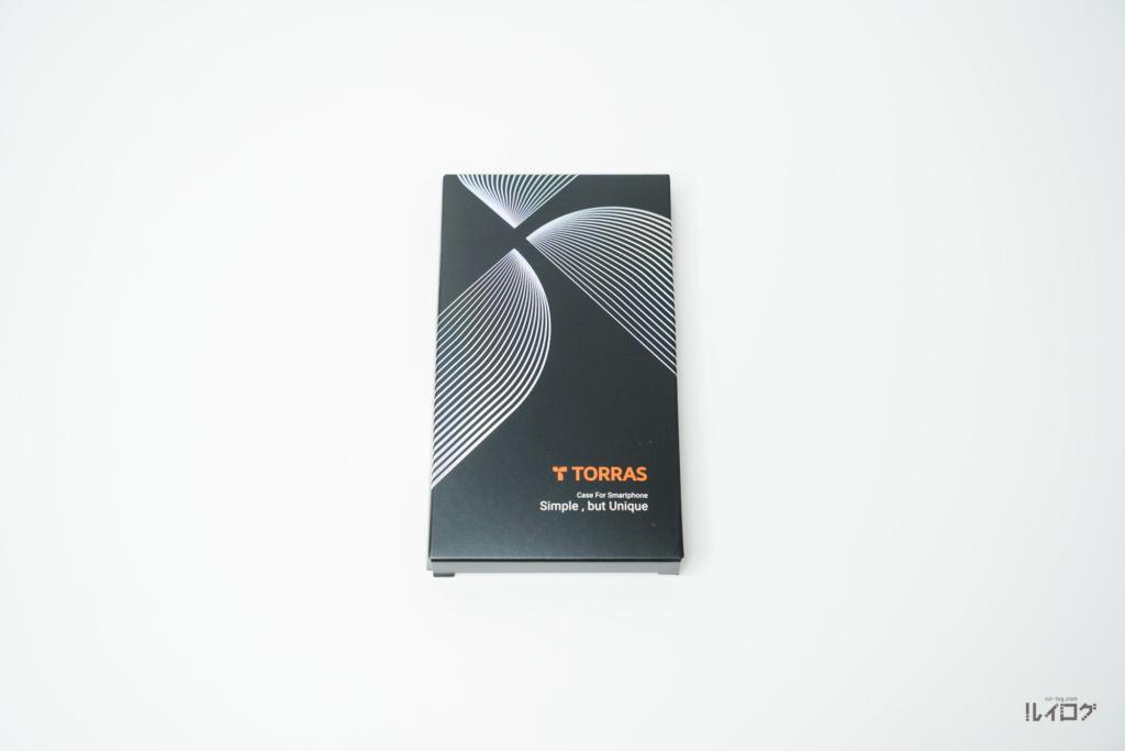 iPhone13mini用TORRAS極薄ケースのパッケージ