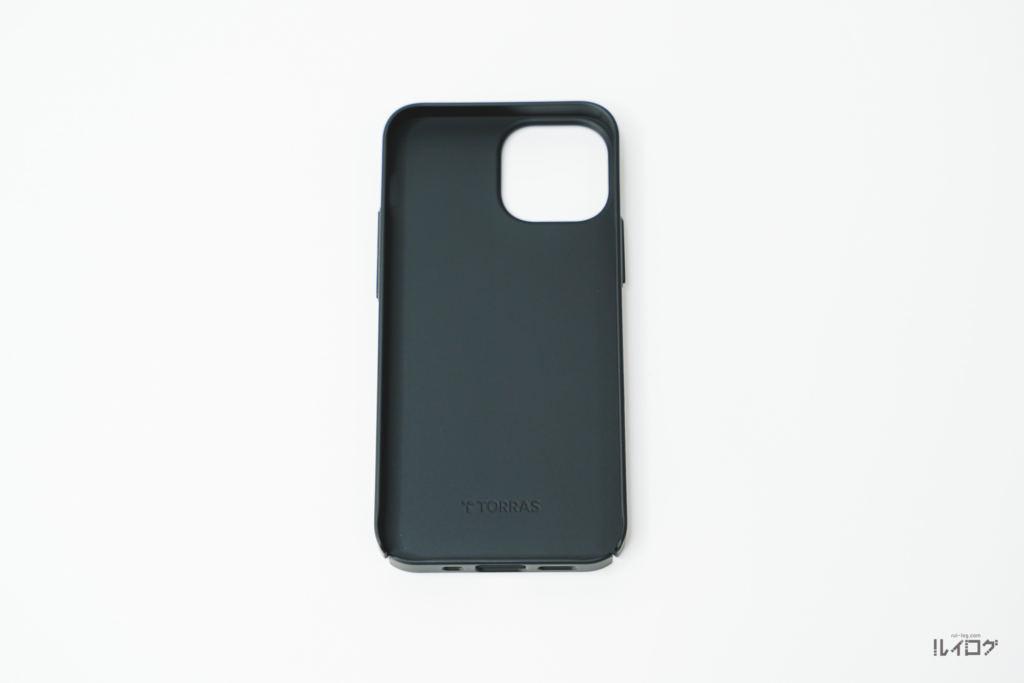 iPhone13mini用TORRAS極薄ケース本体の内側
