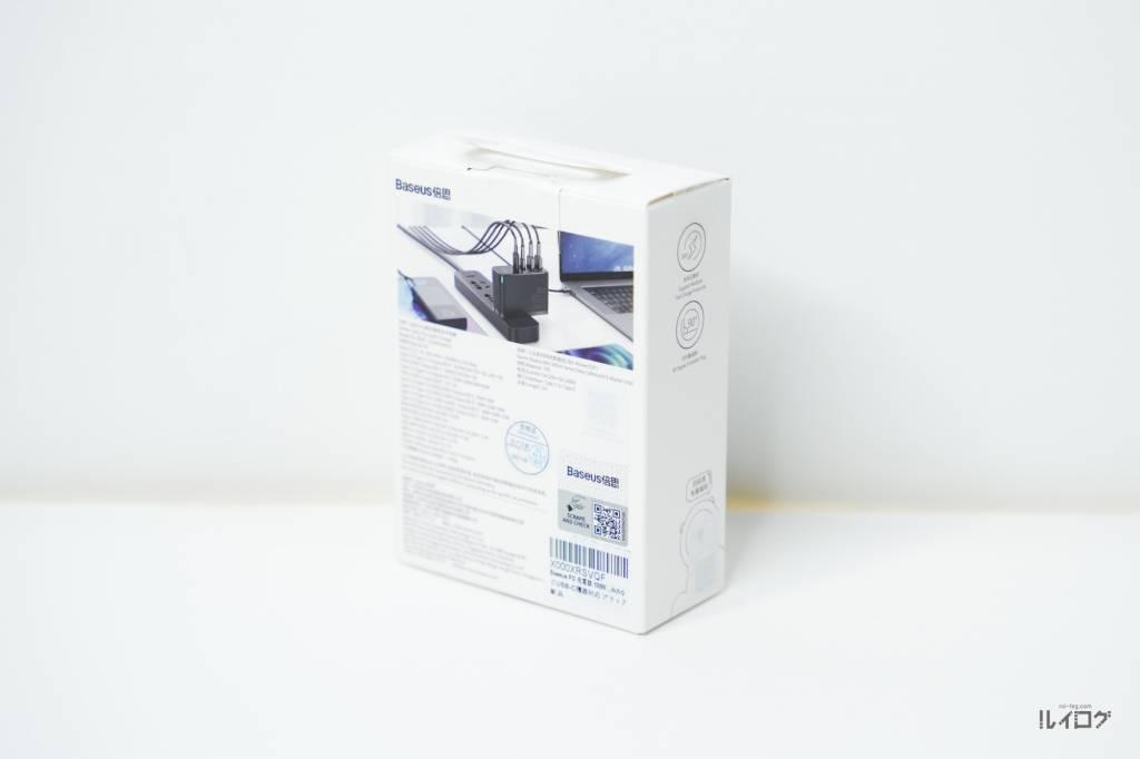 Baseus100W4ポート急速充電器CCGAN100USパッケージ