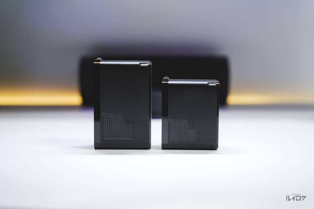 Baseus100W4ポート急速充電器CCGAN100USとCCGAN100CS