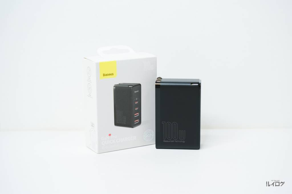 Baseus100W4ポート急速充電器CCGAN100US