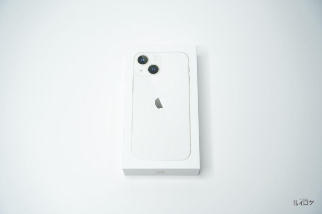 iPhone13miniのパッケージ