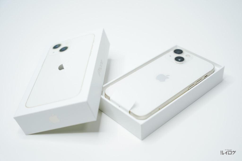 iPhone13miniのパッケージを開封