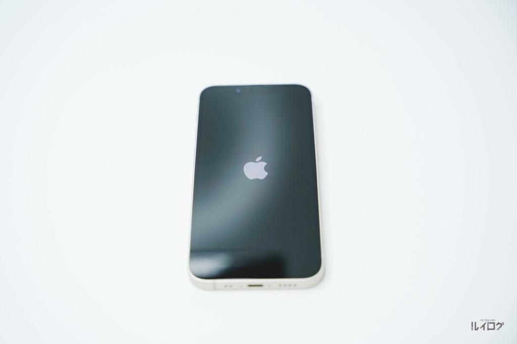 iPhone13miniを起動